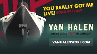 "Van Halen ? ""You Really Got Me"" (LIVE) [Song Preview]"