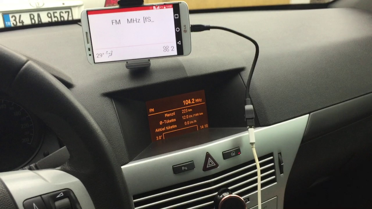Opel astra h android integration part 2 gid display youtube for Astra h tablet install