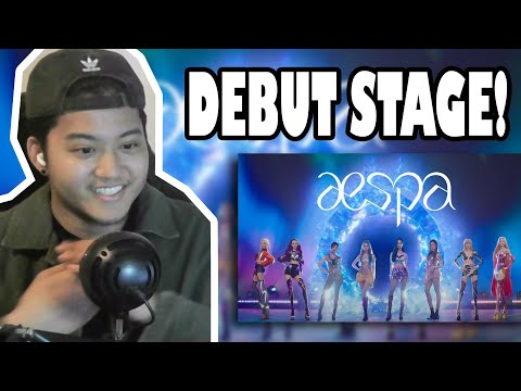 aespa 에스파 'Black Mamba' The Debut Stage | REACTION