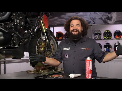 How To Change Motorcycle Brake Pads At RevZilla.com