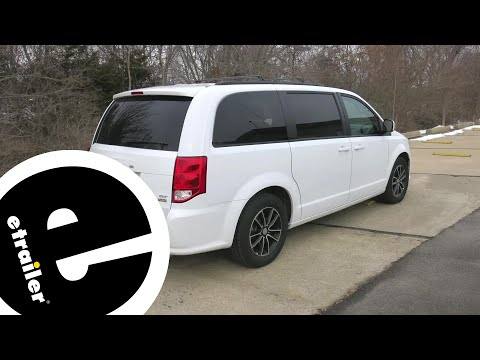 Etrailer   Trailer Hitch Installation - 2019 Dodge Grand Caravan