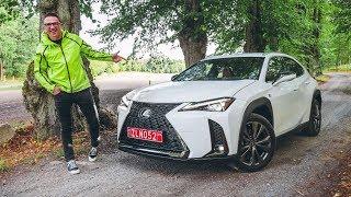 Lexus UX  Первый тест мини кроссовера Лексус. Игорь Бурцев