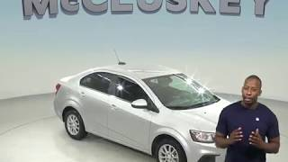 R98478TR Used 2017 Chevrolet Sonic LT FWD 4D Sedan Silver Test Drive, Review, For Sale -