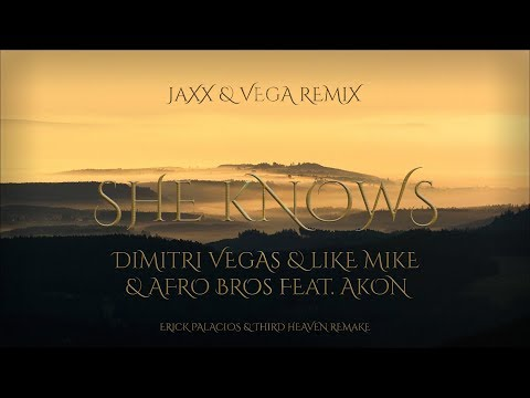 She Knows (Jaxx & Vega Extended Remix) - Dimitri Vegas & Like Mike & Afro Bros Feat. Akon
