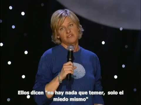 Ellen DeGeneres - The Beginning- Full subtitulado español