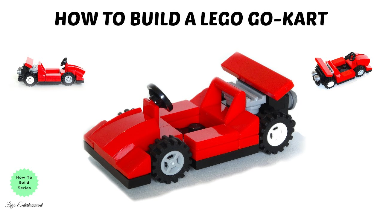 how to make a lego go kart