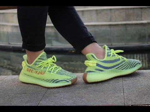 f8264798b YEEZY MAFIA CONFIRMED  yeezy boost 350 v2 semi yellow grey gum on feet  review