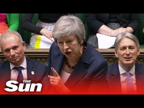 Theresa May issues Brexit statement in Commons | Brexit LIVE