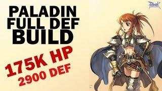 Ragnarok Mobile - PALADIN FULL DEF HP BUILD