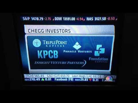 Dan Rosensweig-Chegg CEO 1/18/13