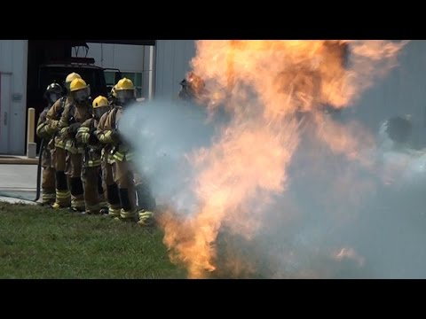 Class 93 Palm Beach State Fire academy  HD (official video)