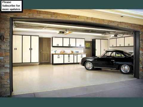 Garage Inside Pics Collection | Garage Cabinets - YouTube