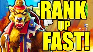 HOW TO RANK UP FAST IN FORTNITE SEASON 6 HOW TO LEVEL UP FAST IN FORTNITE UNLOCK MAX DIRE FAST!