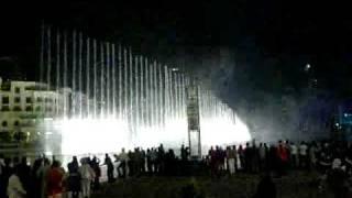 Dubaimall Dancing Fountain 2 (Shik Shak Shok)