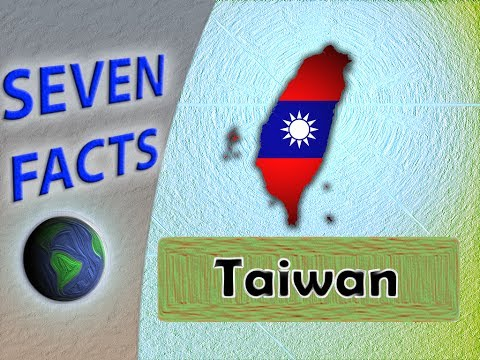 7 Facts about Taiwan