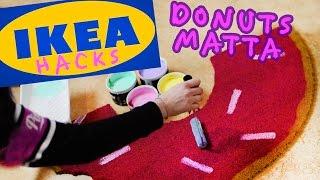 Gör en Donuts-matta🍩 IKEA Hacks #2