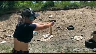 Gambar cover Training day. Funny day. Handgun fort and girl) Ukraine