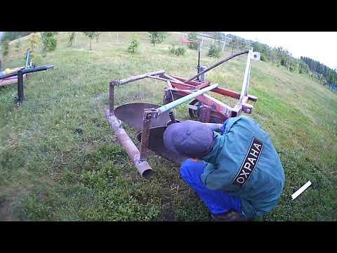 Капитальная переделка плуга трактора т 25)