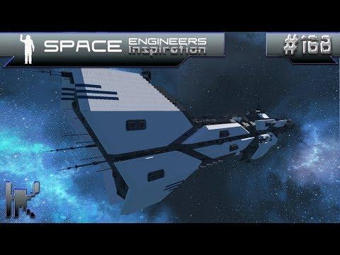 Space Engineers Inspiration - Episode 168: Red Rocket, RCSP Cerberus, & Revelation Carrier