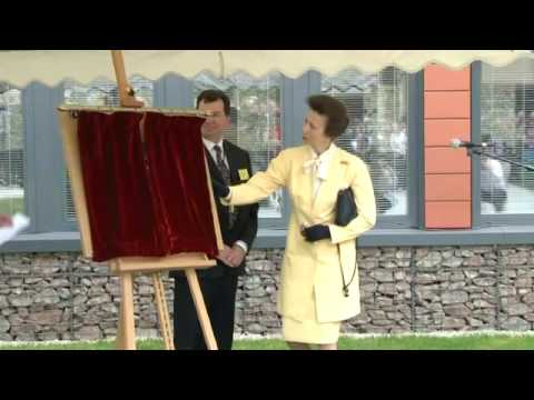 BGS William Smith Building official opening by Princess Anne