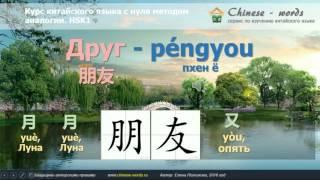 Урок китайского языка 3. (начальный уровень 入门上) Предложение с прямым дополнением.