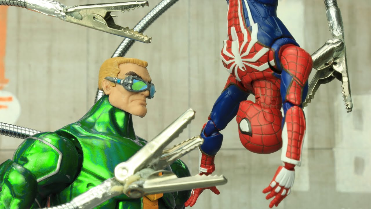 Spider Man vs Doctor Octopus | Official Trailer | Figure Stopmotion