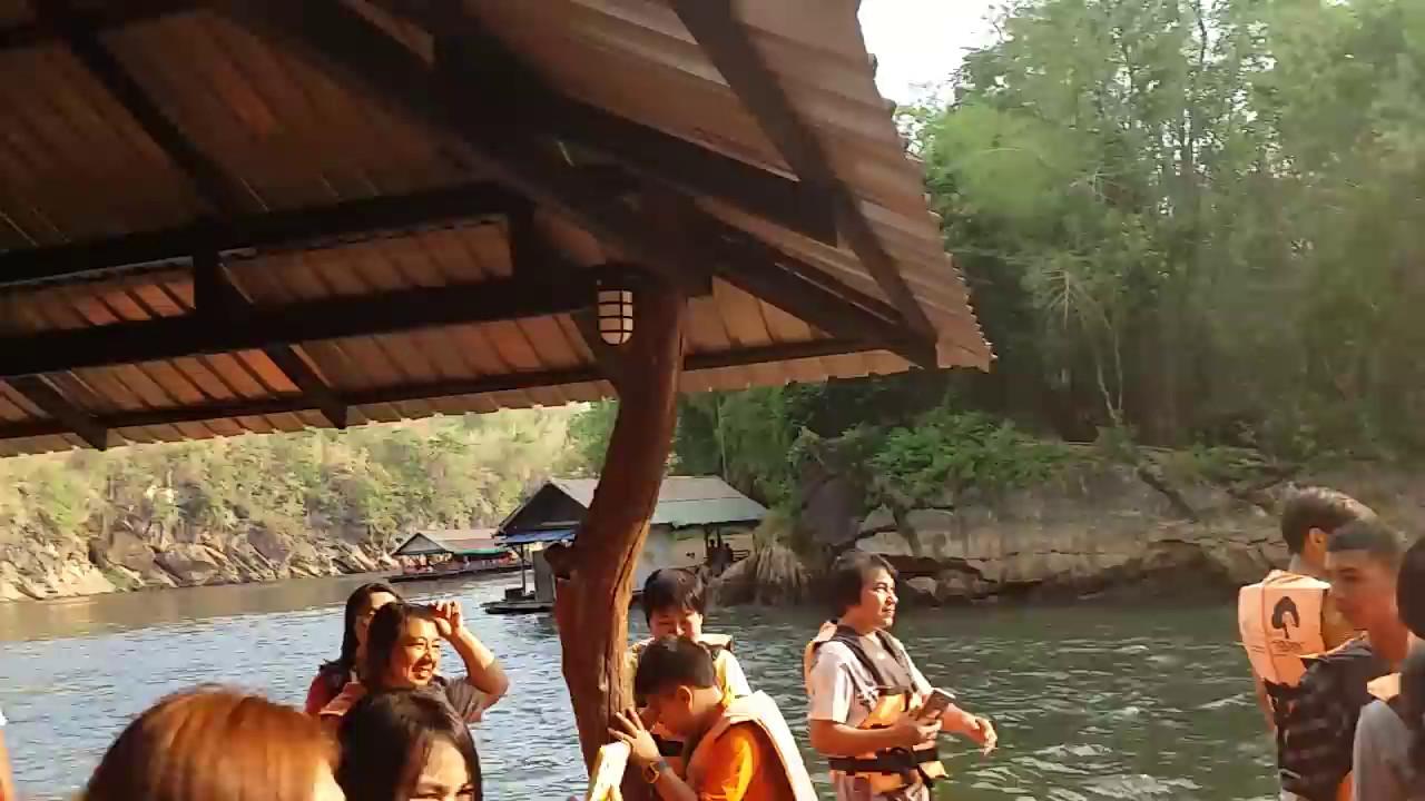น้ำตกไทรโยคใหญ่ ล่องแพกาญจนบุรี
