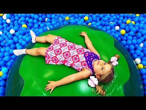Roma And Diana Plays At Indoor Playground Family Fun Play Area For Kids Fun Play Time