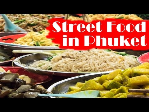 Thai street food in Phuket by Best Phuket Tours
