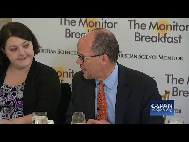 Word for Word: DNC Chair on Sessions Departure and Replacement to Saturday Night Massacre (C-SPAN)