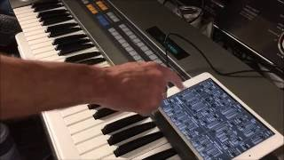 JX-8P Demo with iPG-800 Programmer iOS App