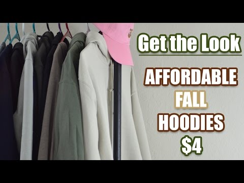 CHEAP ALTERNATIVES FOR EXPENSIVE TRENDY HOODIES