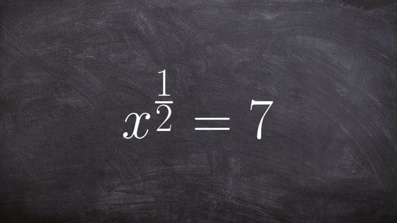 how to solve x 1 2