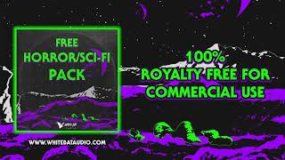 FREE Horror/Sci-Fi Music | 100% ROYALTY FREE COMMERCIAL USE