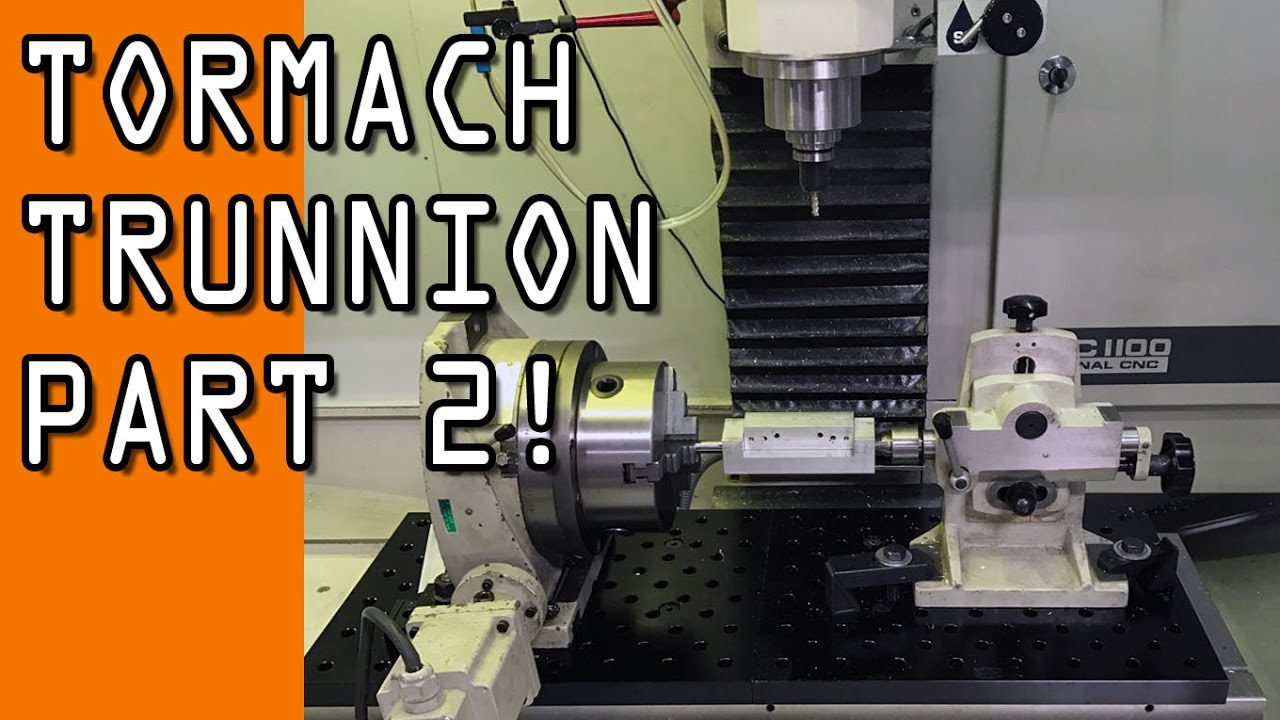 Tormach 4th Axis Trunnion Nyc Cnc