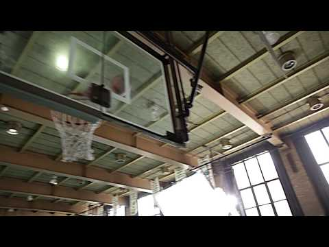 Chris Mullin Basketball Hall of Famer shooting on the set of his First Hoop in Brooklyn, NYC