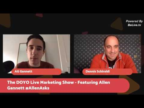 DOYO Live Marketing Show- CEO of TrackMaven and DOYO Live's 2018 Keynote, Allen Gannet