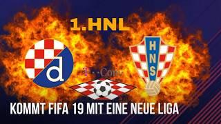 1.HNL In Fifa 19▪ neue Liga in Fifa 19 ▪ kroatische Nationalmannschaft wishlist