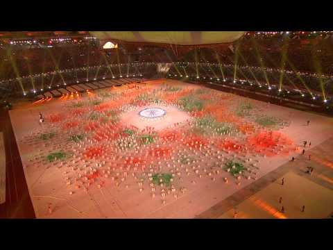 Commonwealth Closing Ceremony BBC Broadcast HD Part  5