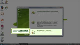 Acer eRecovery Management Procedura per reinstallare Driver e Applicazioni (Italiano)