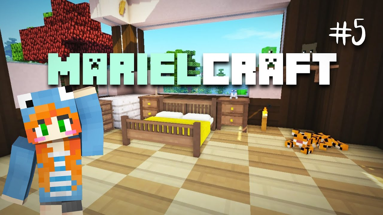 marielcraft decorating the house minecraft mods marielitai gaming youtube. Black Bedroom Furniture Sets. Home Design Ideas