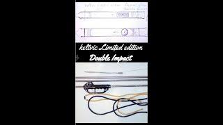 Двойной удар гавайка (слинг) для подводной охоты Polespear double impact