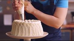 Kakun koristelu kermalla | Valio leivontavinkit