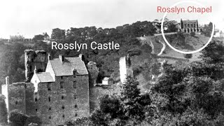 Is Rosslyn Chapel An Energy Point? Rosslyn Castle melted from below?