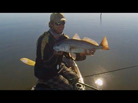 Kayak fishing louisiana out of a kc kayak youtube for Kayak fishing louisiana