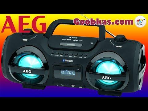 Магнитола с CD/MP3/Bluetooth/USB - AEG SR 4359 BT Radioodtwarzacz Radiomagnetofon | Goobkas.com