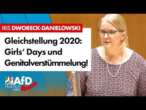 Gleichstellung 2020: Girls' Days und Genital-Verstümmelungen! – Iris Dworeck-Danielowski (AfD)