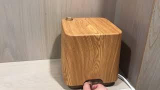 REVE8 WOOD 레트로 대용량 통세척 초음파 가습기