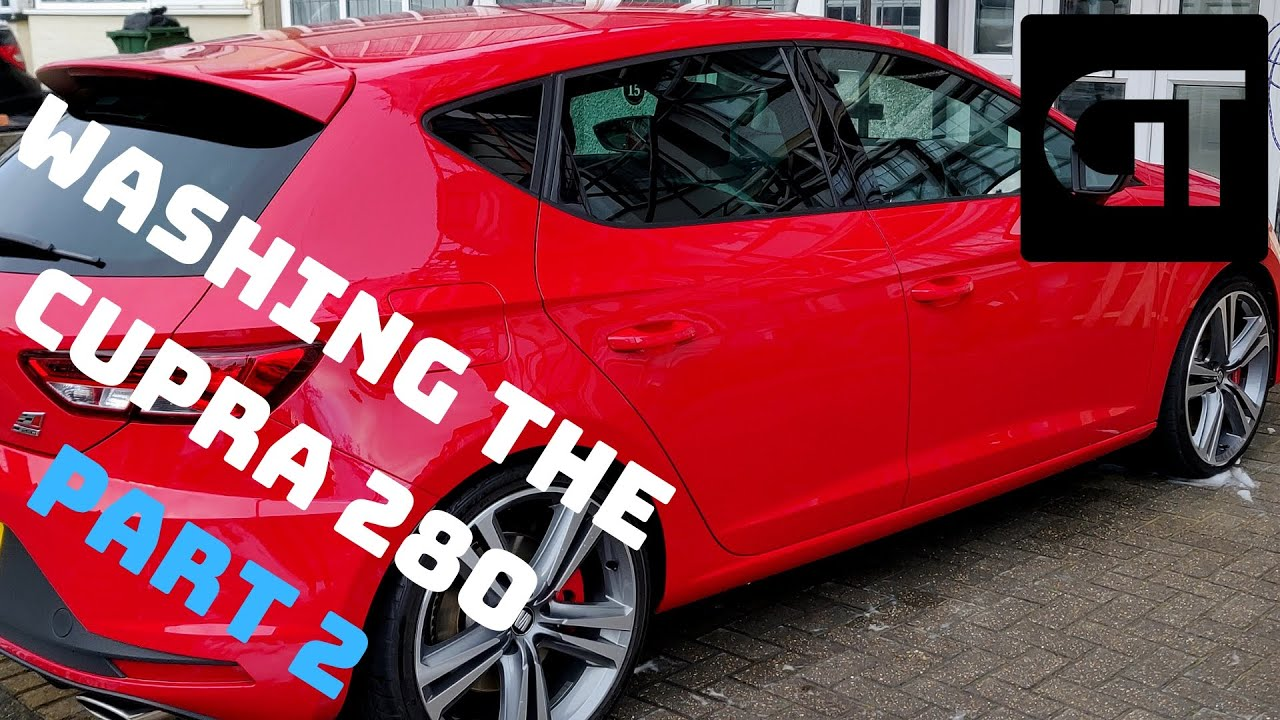 Seat Leon Cupra 280 -  Car Wash: Part 2