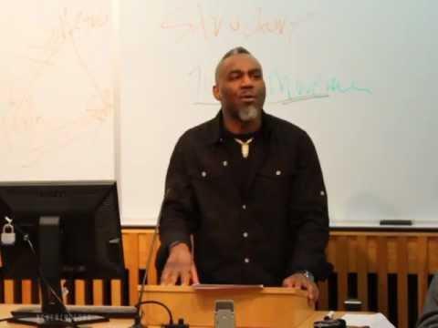 Ewuare X Osayande, W.E.B. Du Bois Symposium, Temple U. ( Dr. Anthony Monteiro)